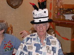 Birthday honorees get to wear the Hat