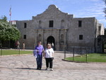 Betty & Brenda @ the Alamo